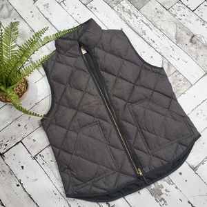 J Crew Excursion Quilted Puffer Vest